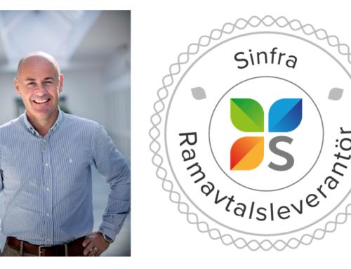 Solvina tecknar ramavtal med Sinfra om tjänster inom anläggningsinformation och dokumentation